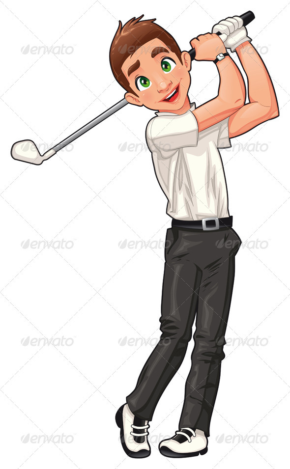 Golf player. - Sports/Activity Conceptual