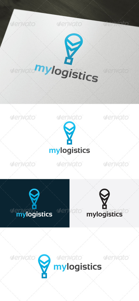 my logistics logo by shaoleen graphicriver