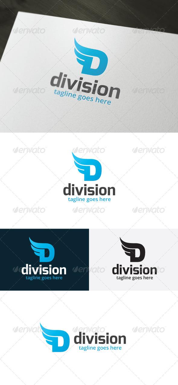 Division Logo — Letter D - Letters Logo Templates