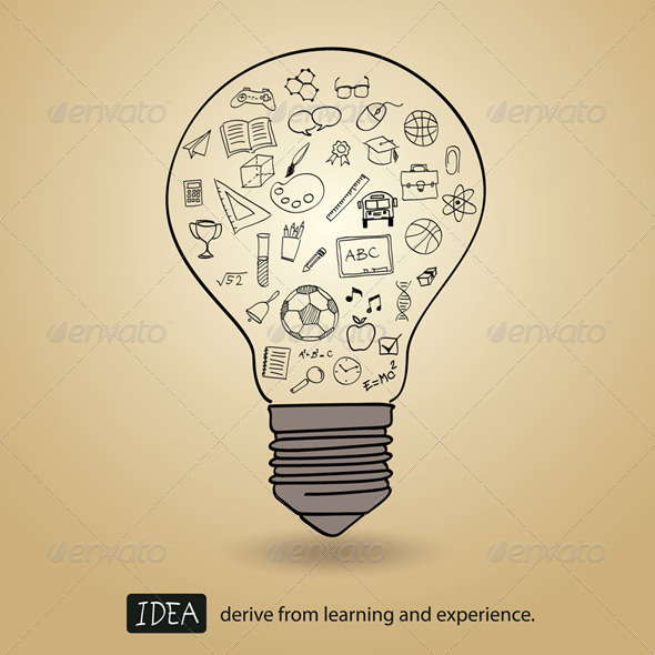 Idea Derive From Learning and Experience  - Conceptual Vectors