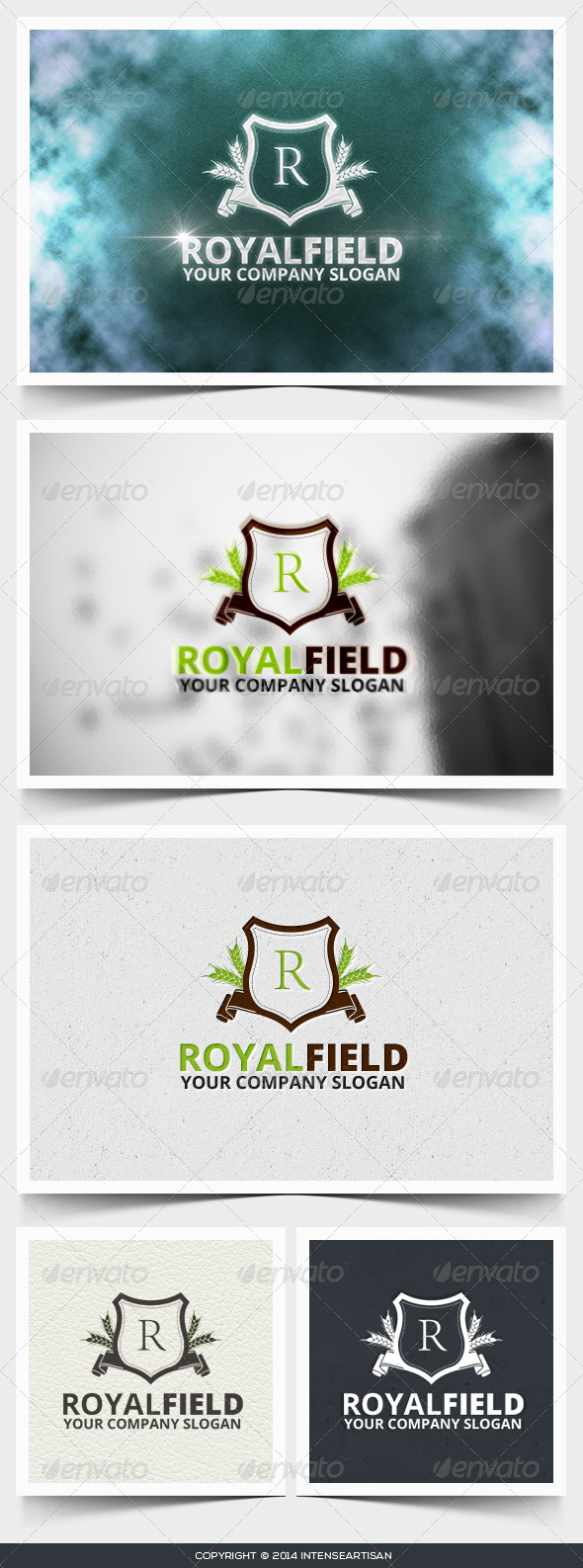 Royal Field Logo Template - Crests Logo Templates