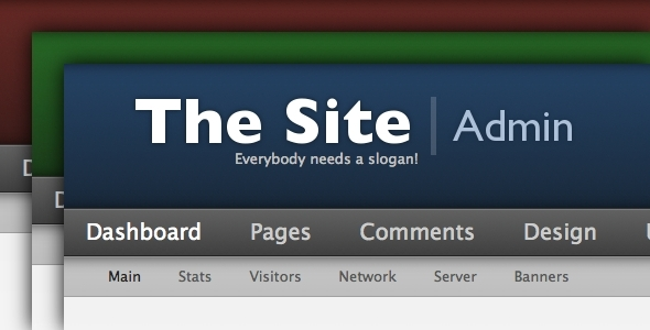 Pure Admin - Admin Templates Site Templates