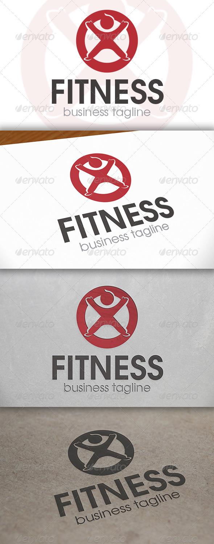 Fitness Logo Template - Humans Logo Templates