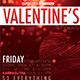 Valentine's Day Event Flyer - GraphicRiver Item for Sale