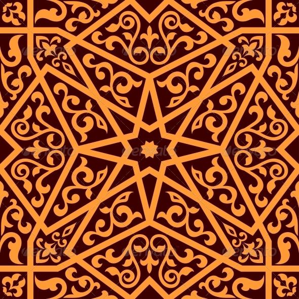 Arabian Seamless Pattern  - Patterns Decorative