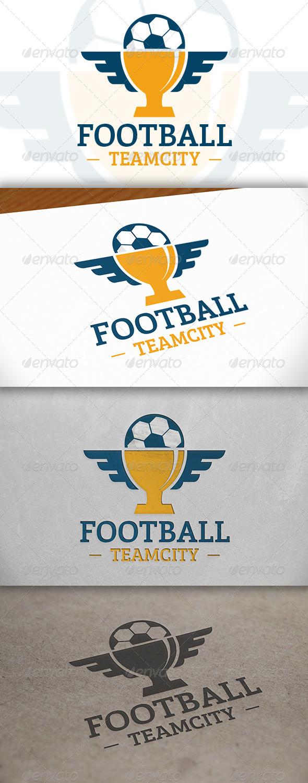 Football Cup Logo - Objects Logo Templates