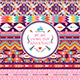 Hipster Seamless Colorful Tribal Pattern - GraphicRiver Item for Sale