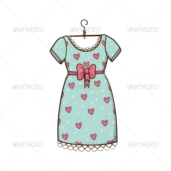 Pretty Dress. - Valentines Seasons/Holidays