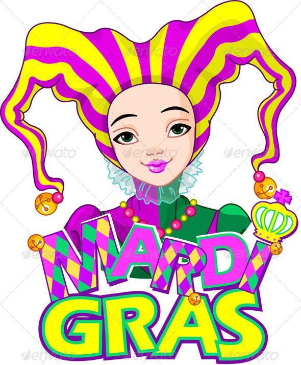 Mardi Gras Harlequin - Seasons/Holidays Conceptual