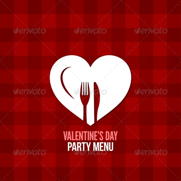 Valentines Day Menu  - Valentines Seasons/Holidays
