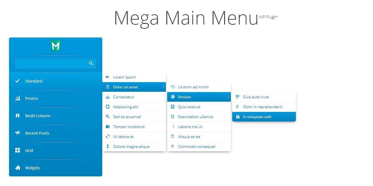 Mega Main Menu - WordPress Menu Plugin by MegaMain | CodeCanyon