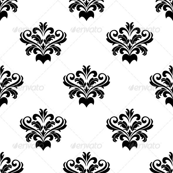 Damask Seamless Pattern - Patterns Decorative