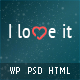 I Love It! - Content Sharing WordPress Theme Nulled