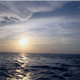 Sunset In Open Sea Blue Sky - VideoHive Item for Sale