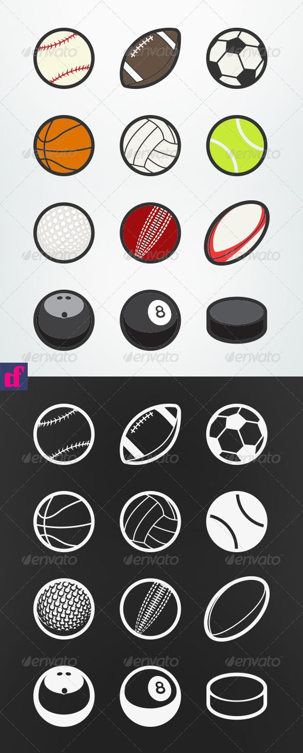 Sports Balls - Sports/Activity Conceptual