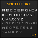 Smoth Font - GraphicRiver Item for Sale