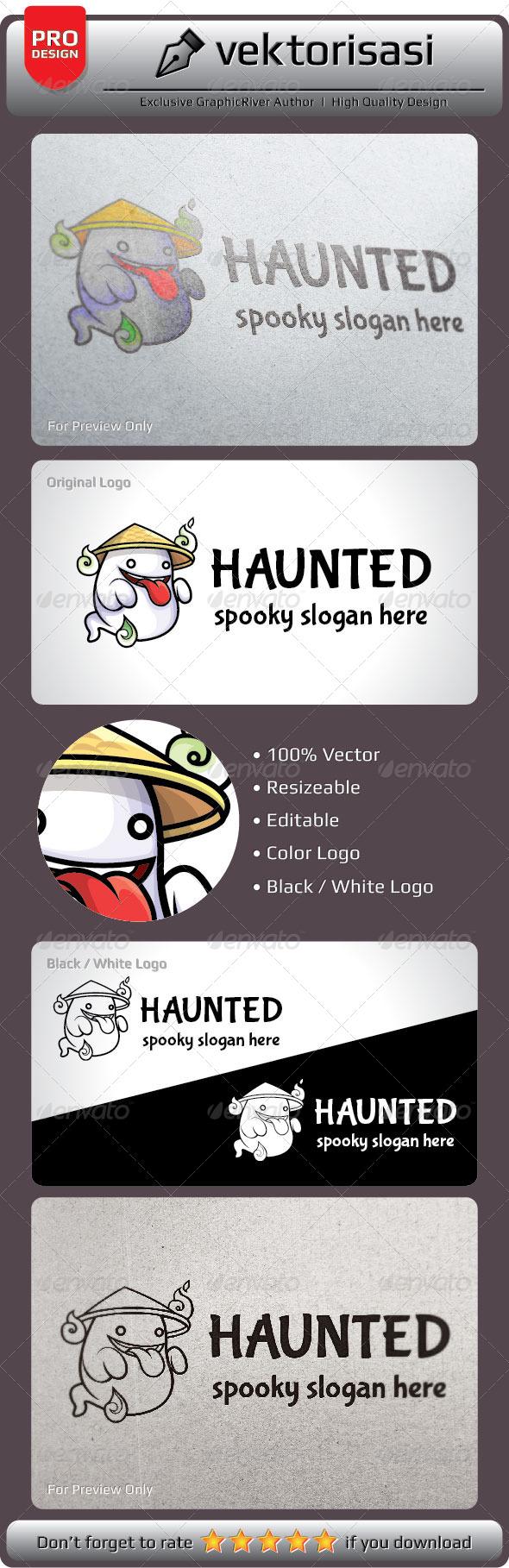 Haunted Logo - Logo Templates
