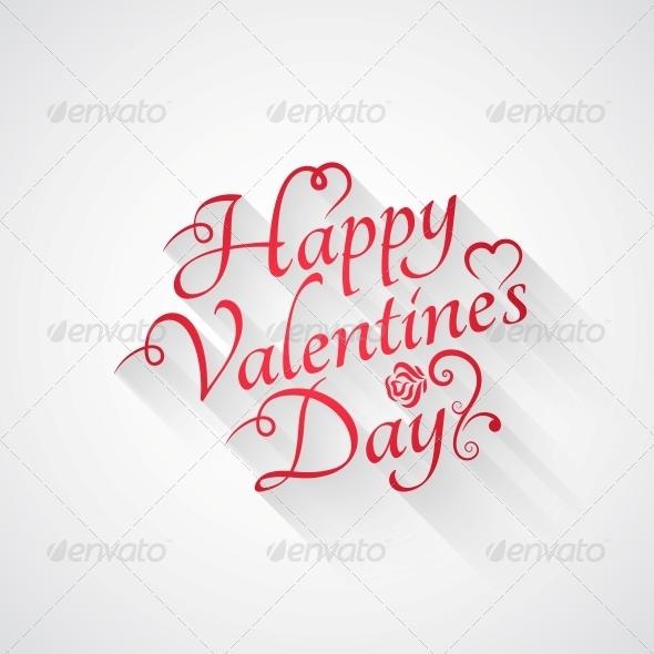 Valentines Day Lettering - Valentines Seasons/Holidays