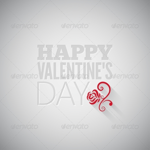 Valentines Day Flower Background - Valentines Seasons/Holidays