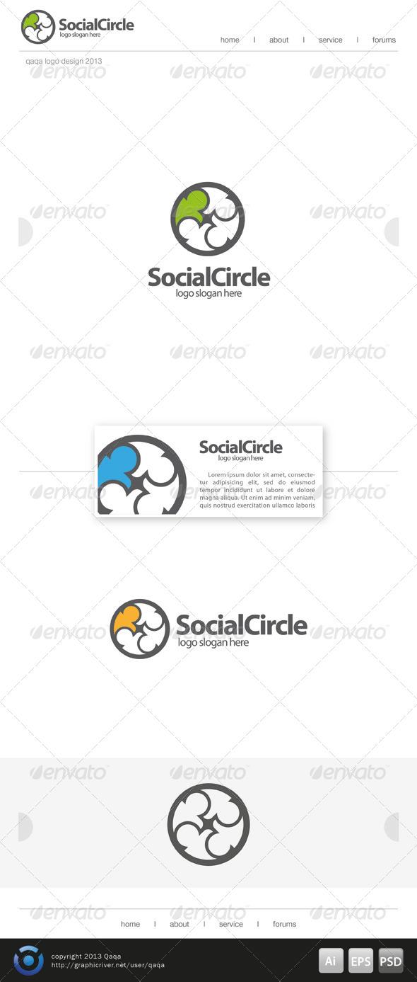 Social Circle Logo - Logo Templates