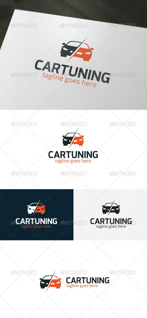 Car Tuning Logo - Objects Logo Templates