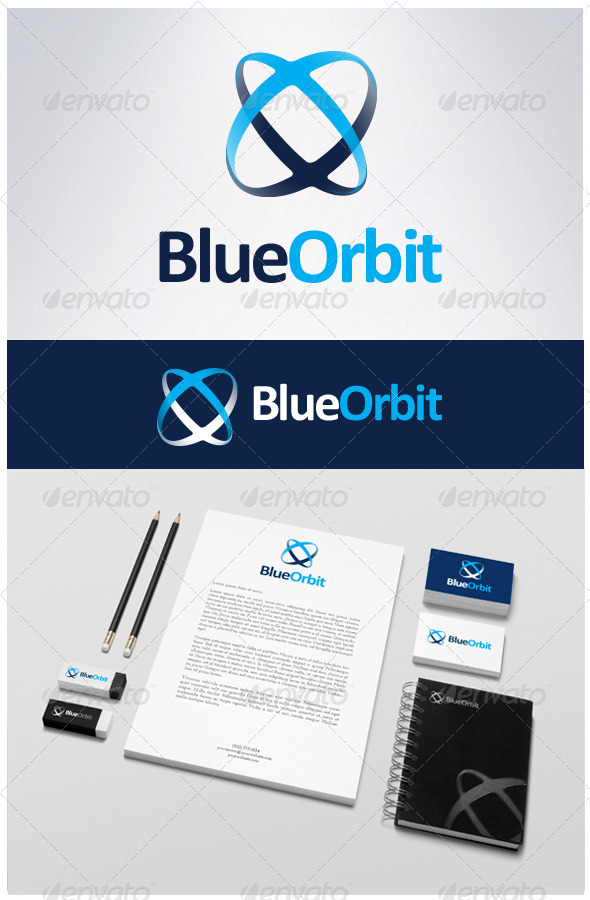 X Orbit Logo - Abstract Logo Templates
