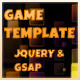 Gathering items game Template, Jquery & Tweenmax