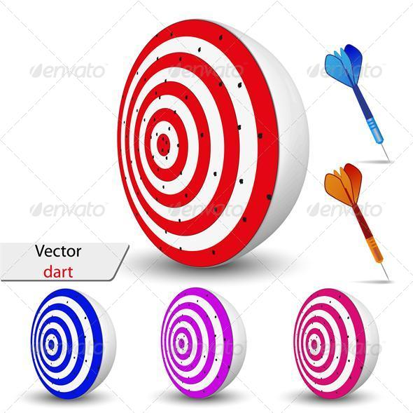 Vector Dart for your Design - Concepts Business