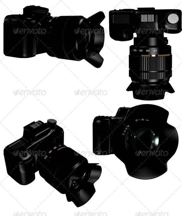 camera - Objects 3D Renders