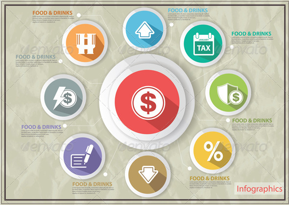Finance Concept Icons   - Business Icons