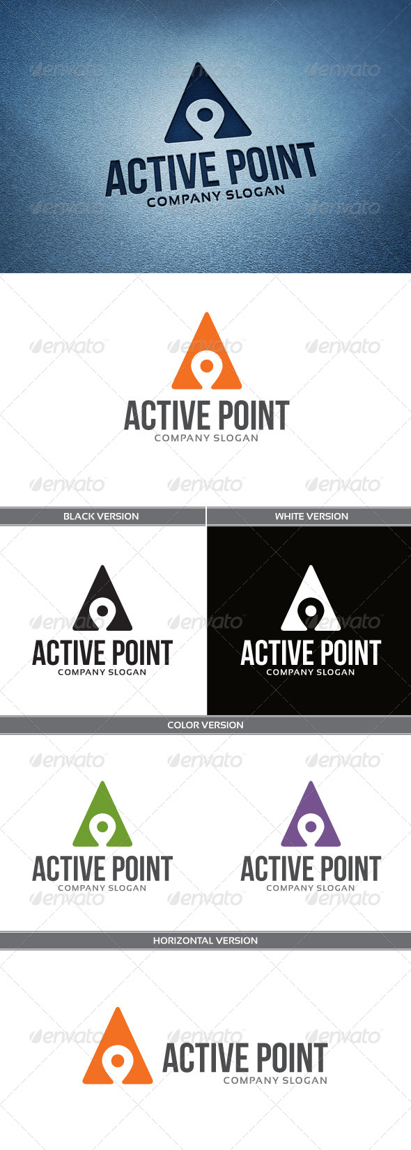 ActivePoint Logo - Letters Logo Templates