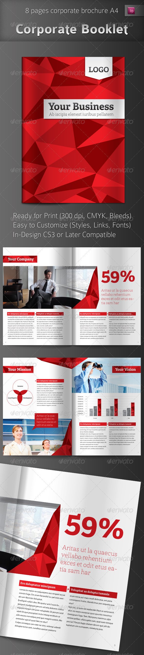 Professional Business Brochure - Corporate Brochures