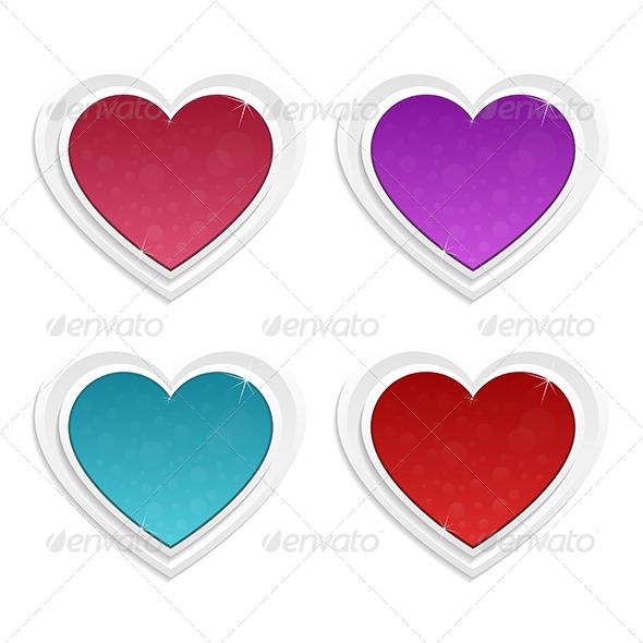Hearts - Objects Vectors