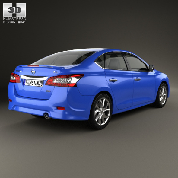Nissan Sentra SR 2013   3DOcean Item For Sale.  Nissan_Sentra_(B17)_SR_2013_590_0001 ...