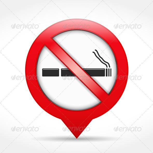 No Smoking Sign - Health/Medicine Conceptual
