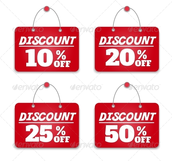 Sign Board Discount - Retail Commercial / Shopping