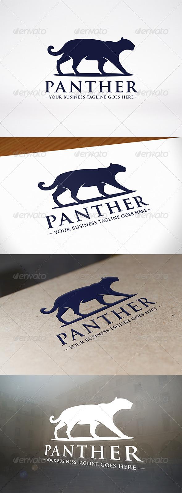 Panther Logo Template - Animals Logo Templates
