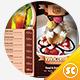 Tri-Fold Restaurant Menu Template - GraphicRiver Item for Sale