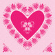 Valentine's Day Card with Pink Heart - GraphicRiver Item for Sale