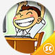 Stressed and Happy Student - GraphicRiver Item for Sale