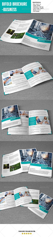 Bifold Brochure- Business - Corporate Brochures