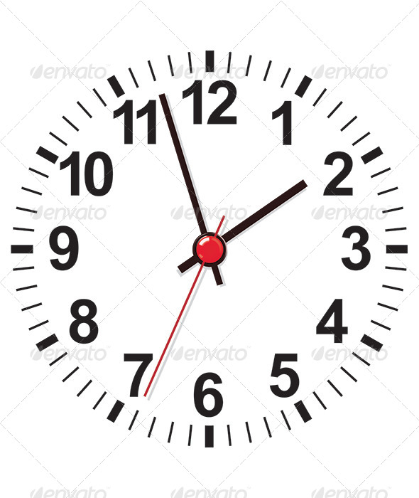 Clock Face - Decorative Symbols Decorative