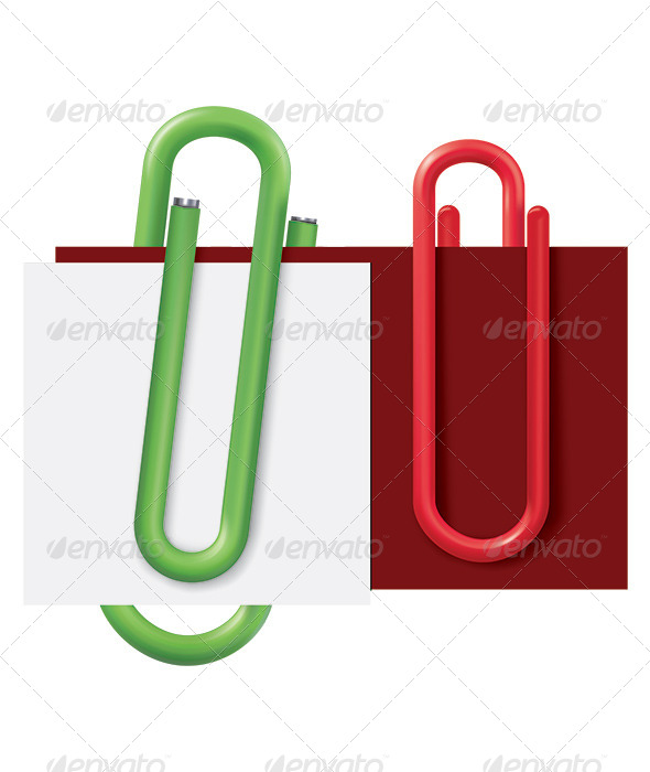 Paper Clip - Man-made Objects Objects