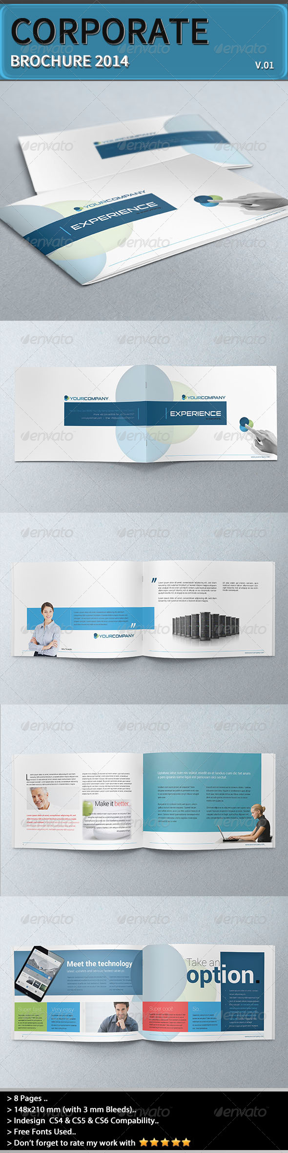 Corporate Brochure - Experience - Corporate Brochures