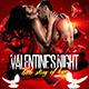 Red Valentines Night Flyer - GraphicRiver Item for Sale
