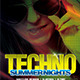 Techno Summer Nights - GraphicRiver Item for Sale