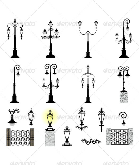 Street Lights   - Man-made Objects Objects
