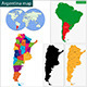 Argentina Map - GraphicRiver Item for Sale