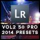50 Pro Presets 2014 Edition Vol 2 - GraphicRiver Item for Sale