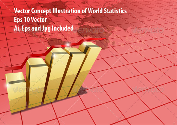 World Statistic - Backgrounds Business